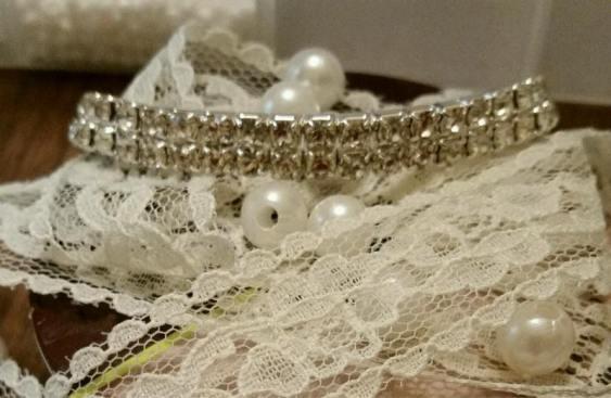 bridal rhinestone bracelet