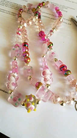 necklace eye glass holder